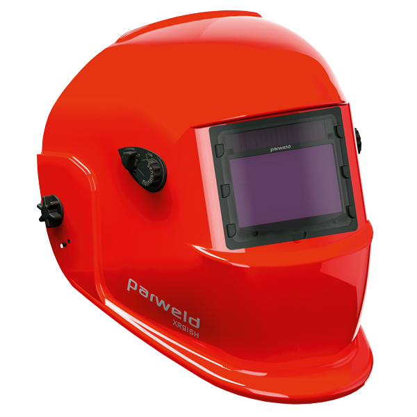 Large View Light Reactive Welding and Grinding Helmet